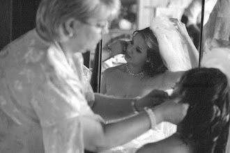 Photo: I. prepares for her wedding