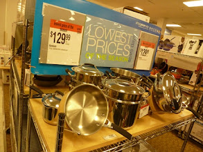 Photo: I was really impressed with this Kenmore cookware. We are switching to stainless steel in our house...this is on my list.