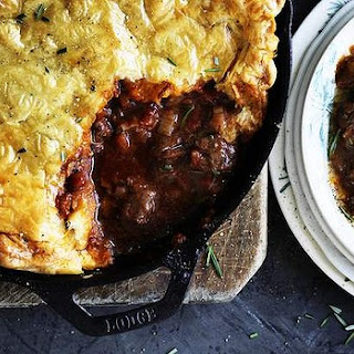 Lamb, Red Wine And Rosemary Pot Pie