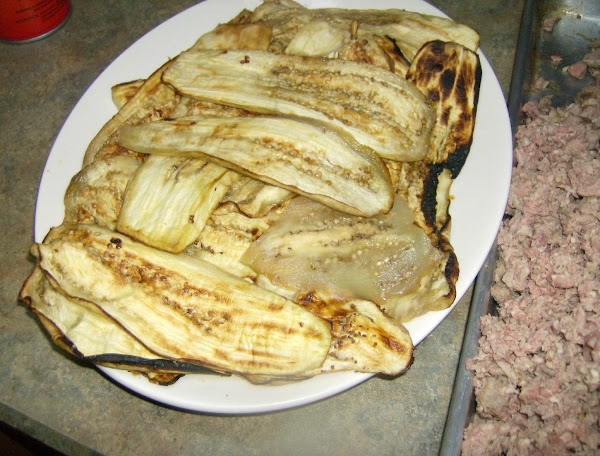 Broiled Eggplant for Southern Style Moussaka
