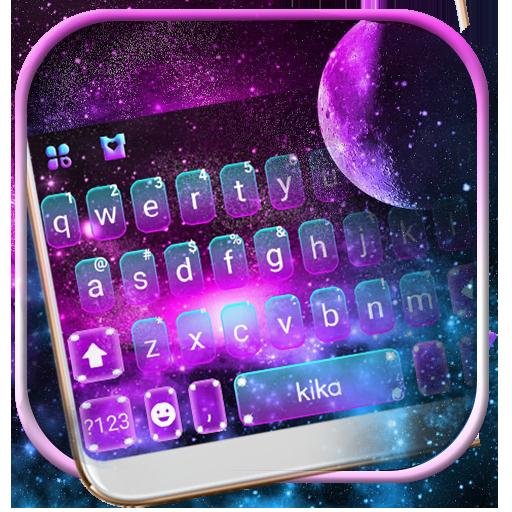 Fantasy Galaxy Keyboard Theme Icon
