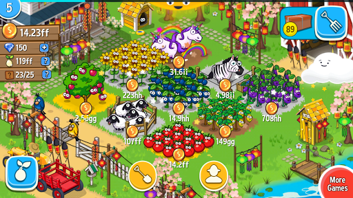 Farm Away - ボーっとした農家