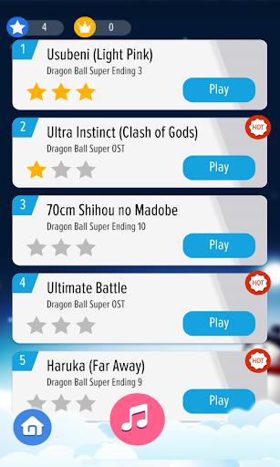 Piano Tap - Dragon Ball Super 4 screenshots 2