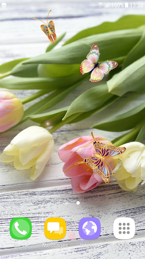 Tulips Live Wallpaper 1.0.7 screenshots 1