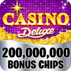 Casino Deluxe Vegas - Slots, Poker & Card Games icon