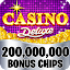 Casino Deluxe Vegas - Slots, Poker & Card Games