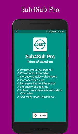 Sub4Sub Pro (No Ads)  screenshots 1