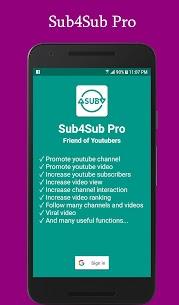 Sub4Sub Pro (No Ads) v4.6 [Paid] APK 1