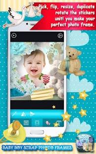 Baby Boy Scrap Photo Frames - náhled