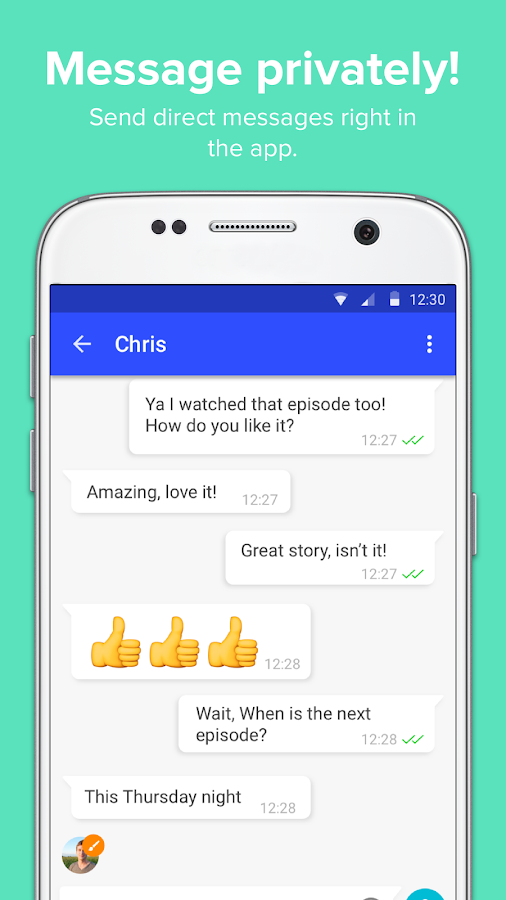 Inbox Messenger: Chat Room App- screenshot