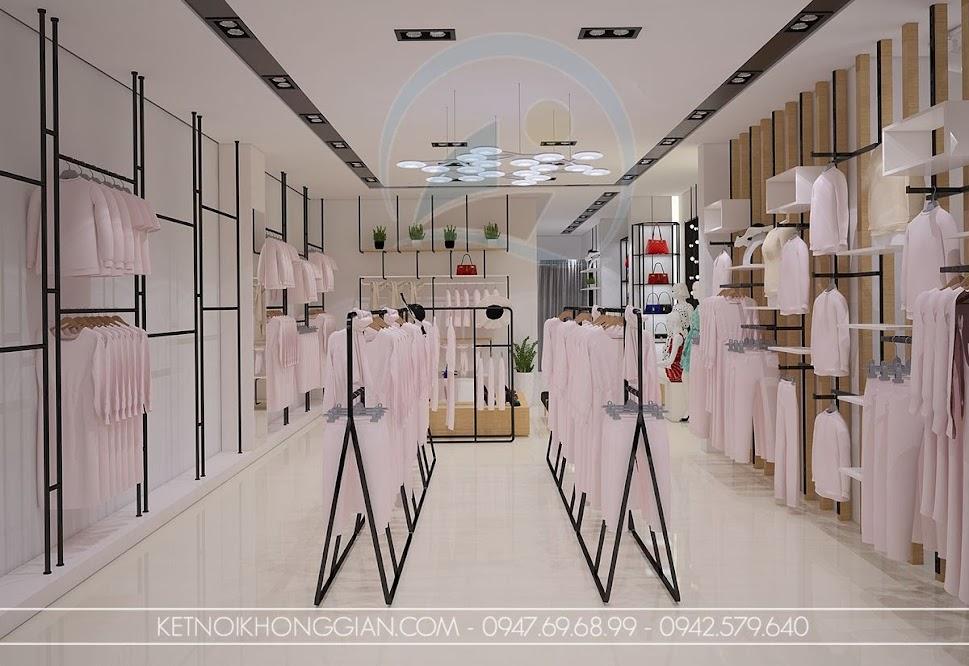 thiết kế shop thời trang thông minh