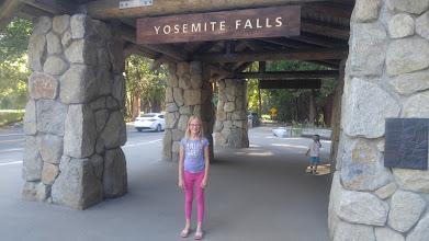 Photo: We had a nice walk to lower Yosemite Falls.