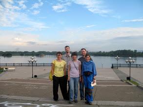 Photo: Мы на набережной Ангары