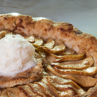 Hot Buttered Rum Apple Pie with Cheddar Crust