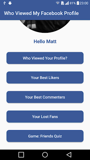 Who Viewed My Profile - Find Stalkers for PC