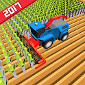 Blocky Plow Agricultura Harves icon