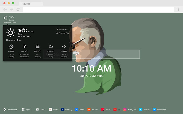 Stan Lee HD  Marvel New Tabs Theme