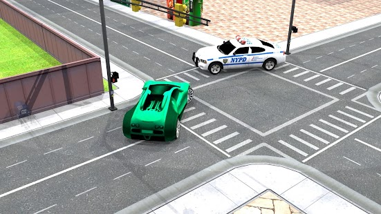 Police Vs Car Thief 3D - náhled