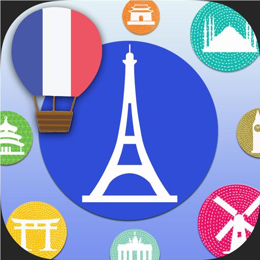 教育のLingoCards法語單字卡-學習法文發音、法國旅行短句 LOGO-記事Game