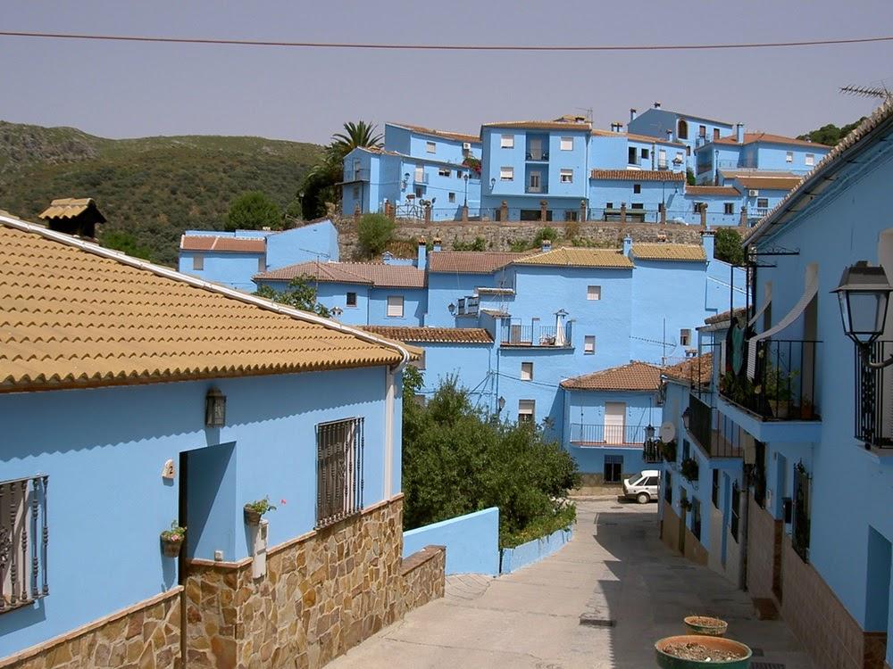 Júzcar, a cidade espanhola dos Smurfs