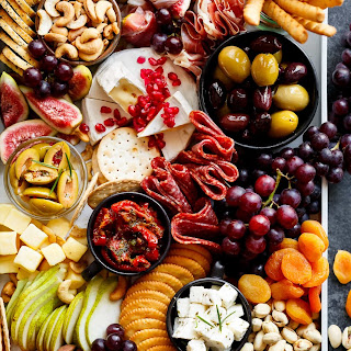 A Loaded Thanksgiving Cheeseboard.