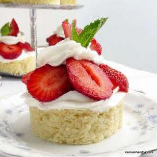 Low Carb Strawberry Almond Shortcake