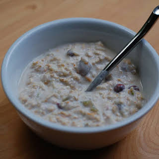 Orange Cardamom Bircher Muesli.