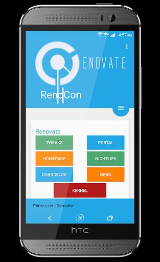 Renovate Prime Key