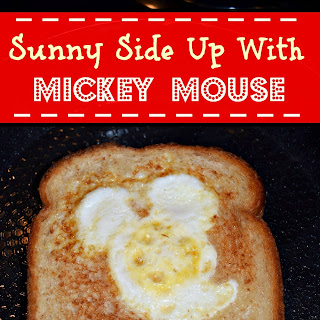 Sunny Side Up With Mickey Mouse.