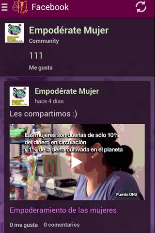android Empodérate Mujer Screenshot 1