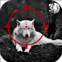 Wolf Hunter 2018 - Animal Hunting FPS Sniper games icon