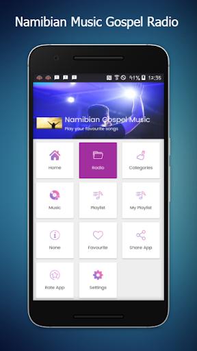 Namibian Gospel Music:Namibia Radio Station Free App Report on