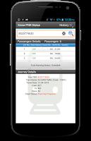 Screenshot of PNR & Indian Rail Enquiry PRO