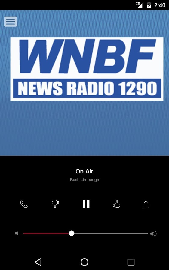 WNBF News Radio - Binghamton News Radio 1290- screenshot