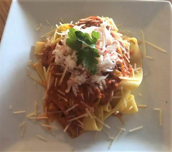 Pappardelle With Crab And Tarragon