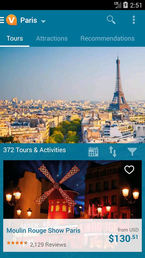 Viator Tours & Activities- screenshot