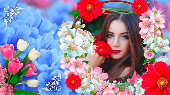 Edit Flowers Photo Frame 2 - náhled
