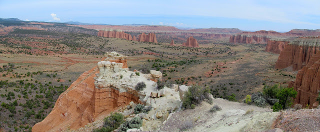 Cathedral Valley Overlook
