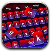 Red Blue Gradient Keyboard Android APK Download Free By Keyboard Theme Master