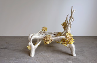 Photo: Mycelium Chair, Mycelium Project 1.0 Studio Eric Klarenbeek
