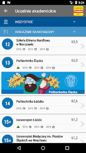 Ranking Szkół Wyższych PERSPEKTYWY 2017 - náhled