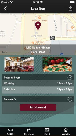 MIO Italian Kitchen- screenshot