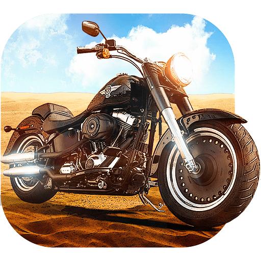 爸爸摩托赛车 賽車遊戲 App LOGO-硬是要APP
