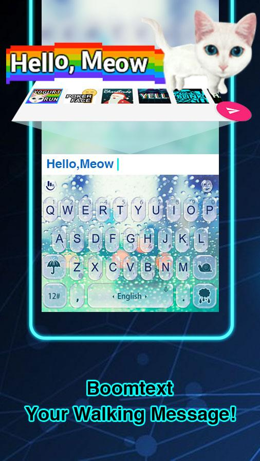 TouchPal ABC Keyboard: Cool Themes, GIFs and Fonts- screenshot