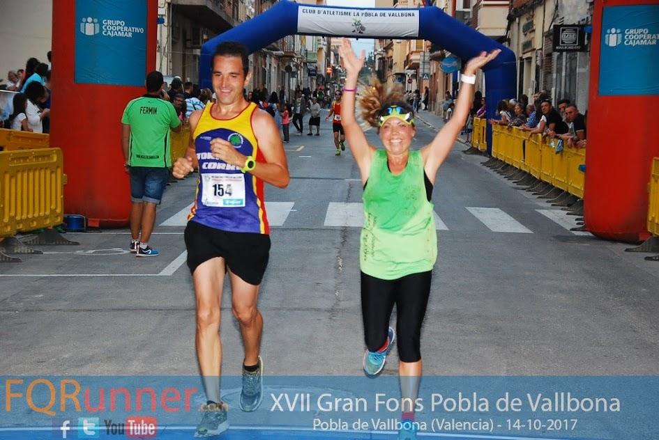 Segunda clasificada XVII Gran Fons Pobla de Vallbona 2017