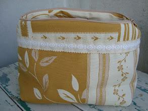 Photo: pochette con tessuto arredamento patchwork