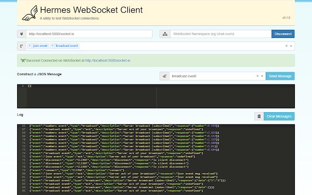 Hermes WebSocket Client
