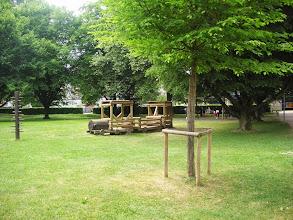 Photo: Der prächtige Spielpark mit altem Baumbestand  angrenzend an das APH
