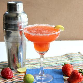 Strawberry Key Lime Margarita