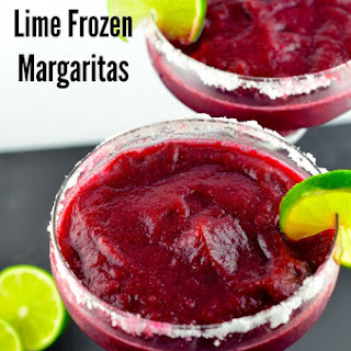 Blueberry Lime Margaritas